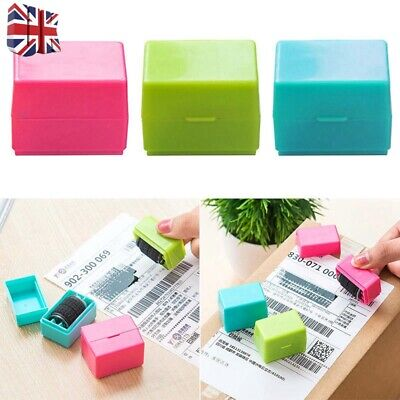 Privacy Information Protection Stamp Security Theft Identity Guard ID Roller UK • 5.02£