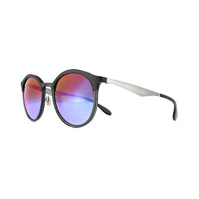 d9b723e137 Ray-Ban Sunglasses Emma RB4277 6324B1 Grey Gunmetal Blue Violet Gradient  Mirror • 133.00