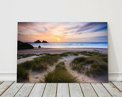 £29.95 • Buy Holywell Bay Nr Newquay Cornwall Sunset Canvas Print Framed Picture Wall Art