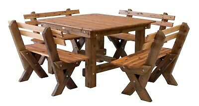AU1440 • Buy OUTDOOR FURNITURE New Timber Outdoor Setting Seats 12 (orders Only)
