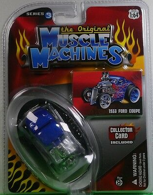 AU26.95 • Buy 1933 Ford Coupe * BLUE * The Original Muscle Machines