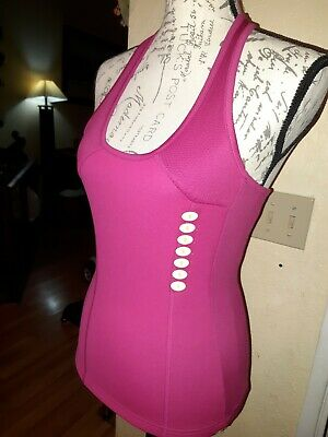 $19.99 • Buy Zaggora Size S Work Out Neoprene Top Tank Hot Pink Fucia Brand New