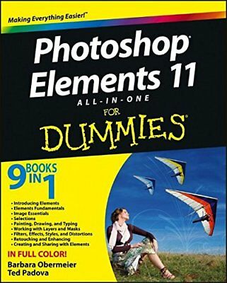 £7.04 • Buy Photoshop Elements 11 All-In-One For Dummies By Ted Padova And Barbara...