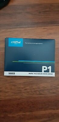 View Details Crucial P1 (500GB) 3D NAND NVMe PCI Express M.2 Solid State Drive (Internal) • 100.00£