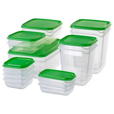 AU20.99 • Buy PRUTA 17 Plastic Food Storage Containers Saver Container For Kitchen *Free Post*