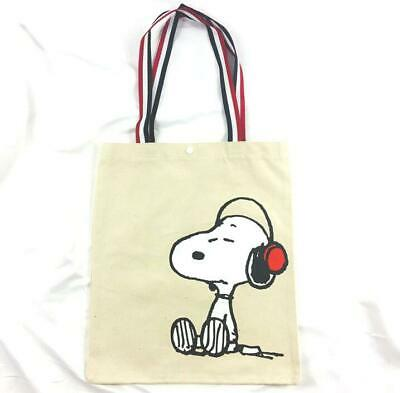 Cute Snoopy Peanuts Canvas Women Girls Tote Bag Books Shopping Bag Shoulder Bag • 9.98£