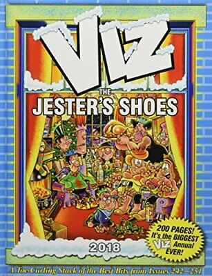 Viz Annual 2018: The Jester's Shoes (Annuals 2018) Book The Cheap Fast Free Post • 2.99£