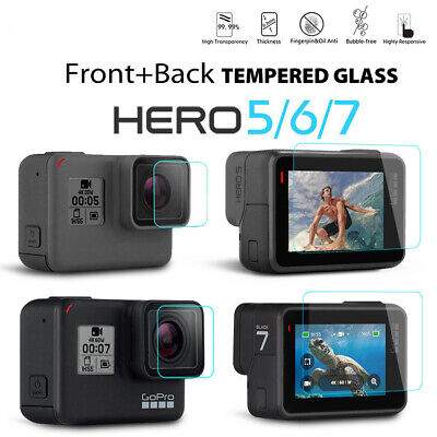 $ CDN2.06 • Buy For Gopro Hero 7 6 5 Camera Accessories Lens & Screen Protector Protective Film