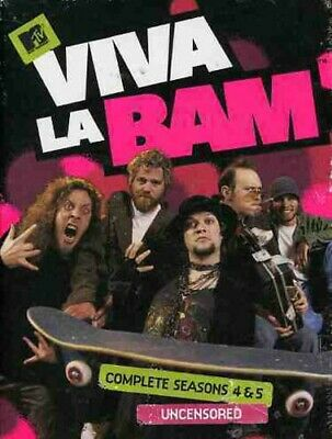 Viva La Bam: Complete Seasons 4 / 5 (Fourth And Fifth Seasons) (3 Disc) DVD NEW • 36.55£