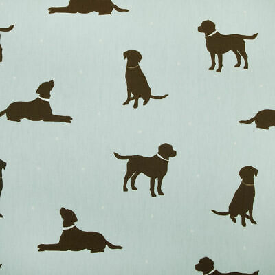 £9.99 • Buy Clarke And Clarke Rover Duckegg 100% Cotton Fabric