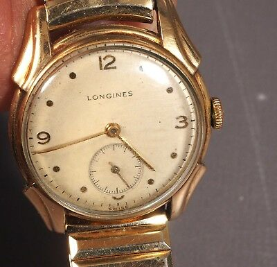 $ CDN412.34 • Buy 1960's LONGINES 10K GOLD FILLED Band Hand-Winding SUB SECOND DIAL Works Vintage