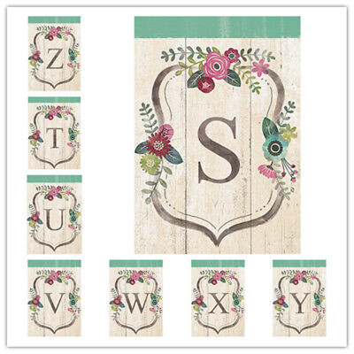 $ CDN6.96 • Buy Welcome English Aphabet Letters Garden Flag Double-sided House Decor Banner