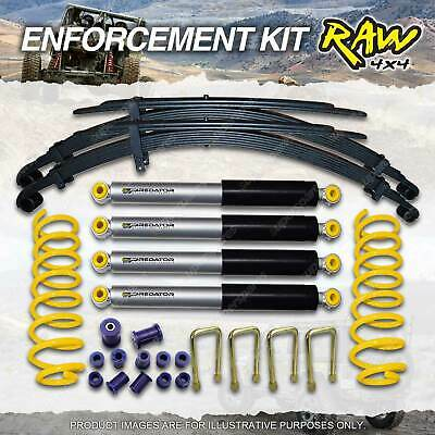 AU1187.63 • Buy Raw 4x4 Predator Shocks Coil Leaf 40mm Lift Kit For Mitsubishi Triton ML, MN