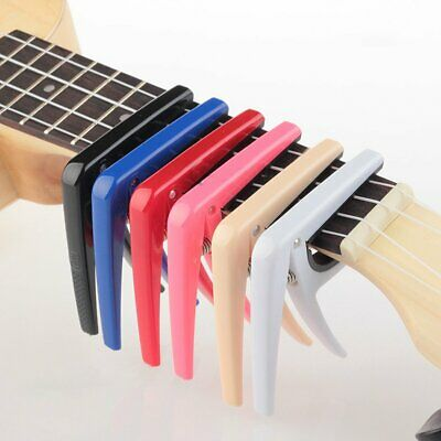 $ CDN4.57 • Buy Guitar Capo For Electric Classic Ukulele Quick Change Tuner Trigger Key Clamp