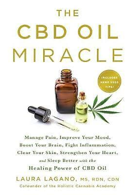 AU32.96 • Buy Cbd Oil Miracle: Manage Pain, Improve Your Mood, Boost Your Brain, Fight Inflamm