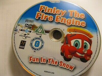 Finley - The Fire Engine Fun In The Snow - Disc Only  (ds38) {dvd} • 1.25£