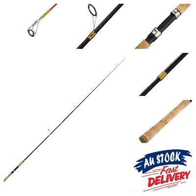 AU25 • Buy **Clearance** SHAKESPEARE Tiger 6' 6  Med 6-12lb 2Pc Graphite Fishing Rod