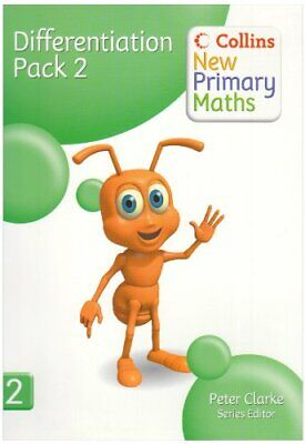 £7.49 • Buy Collins New Primary Maths - Differentiation Pack 2 Spiral Bound Book The Cheap