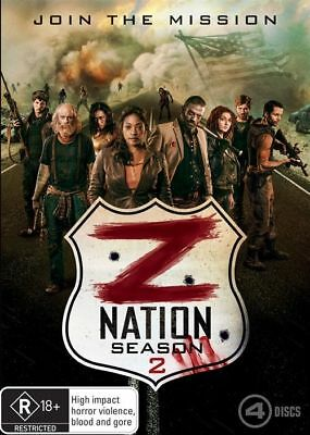 AU15.99 • Buy Z Nation : Season 2 (DVD, 2016, 4-Disc Set) NEW, AUTHENTIC REGION 4