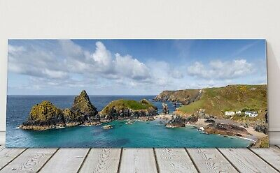 £24.95 • Buy Kynance Cove Panoramic Canvas Print Cornwall Framed Picture