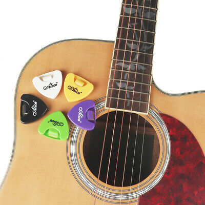 $ CDN8.12 • Buy 5Pcs Portable Guitar Picks Plectrums Holder Case Box Self-Adhesive Plastic Light