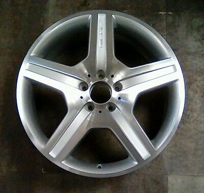 $485 • Buy Mercedes CL550 S550 S600 07 08 09 85021 OEM Wheel Rim 19 X 8.5 Machined Front