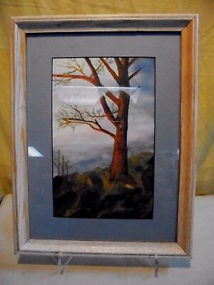 $ CDN55.73 • Buy 1970's Unsigned S. Esther Original Landscape  Watercolor Painting 12.5 X 16