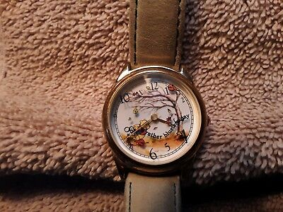 $300 • Buy Retired Disney Ltd Edition WINNIE THE POOH & THE BLUSTERY DAY Watch By Fossil