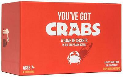 AU47.17 • Buy You've Got Crabs - Exploding Kittens Free Shipping!