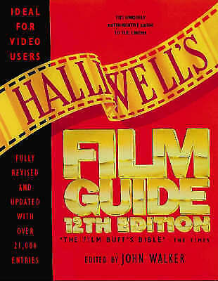 VERY GOOD  Halliwell's Film And Video Guide, , Book • 3.79£