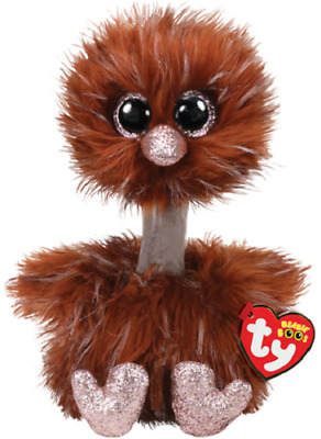 $14.95 • Buy 2019 TY Beanie Boo 9  Medium Orson The Brown Ostrich Plush Stuffed Animal MWMTs