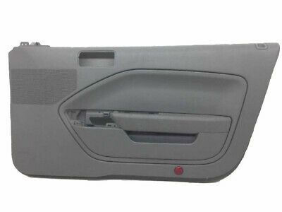 $29.24 • Buy Fits 05-09 Ford Mustang Synthetic Leather Gray Padded Door Panel Insert Cards