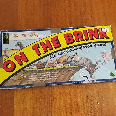 AU30 • Buy On The Brink The Fun Endangered Game 1993 Complete