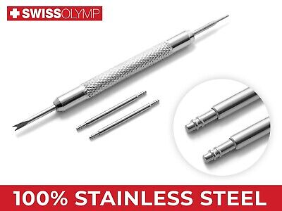 20mm For OMEGA Watch Steel Pins Spring Bars Strap Band Buckle Clasp Remover Tool • 4.75£