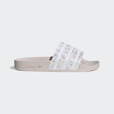 c52062ba2490 Adidas Originals Adilette W White Pink Women Slides Sandals New Summer  G27232 • 49.00