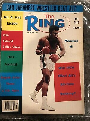 $6.50 • Buy July 1976 THE RING MAGAZINE! Muhammad Ali On COVER