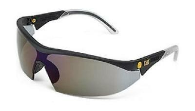 £14.99 • Buy Caterpillar Digger Smoke Tinted Lens Safety Spectacles Cat Glasses