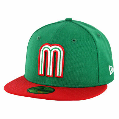 sports shoes 3ff5e 57f84 New Era 5950 Mexico National Baseball Team Fitted Hat (KGR Scarlet RD) Men s