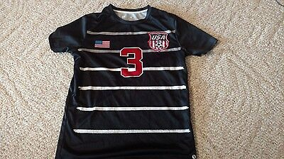 2dc2bfe17bd Usa Soccer Jersey Size Xl 18 20 Number 3 Soccer Futbol Great Condition Free  Ship •