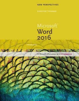 AU116.99 • Buy New Perspectives Microsoft Office 365 & Word 2016: Introductory By Ann Shaffer (