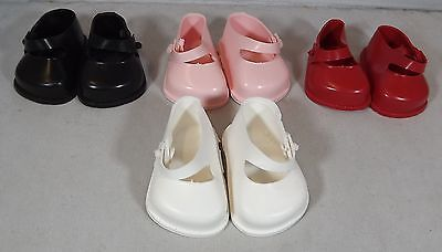 Pair Of Cinderella Doll Strap Shoes Size 0 - Various Colours *One Pair Only* • 4.50£