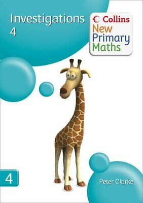 £5.49 • Buy Collins New Primary Maths - Investigations 4: B... By Clarke, Peter Spiral Bound