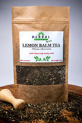 Lemon Balm Tea Melissa Dried Herb (Melisa Lekarska) 50g • 4.99£