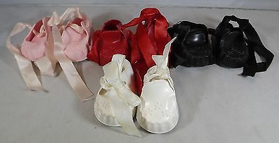 Pair Of Cinderella Doll Moccasin Shoes Size 1 - Various Colours *One Pair Only* • 5.50£