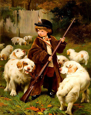 £14.95 • Buy Charles Burton  Barber  The New Keeper  - 24'  CANVAS