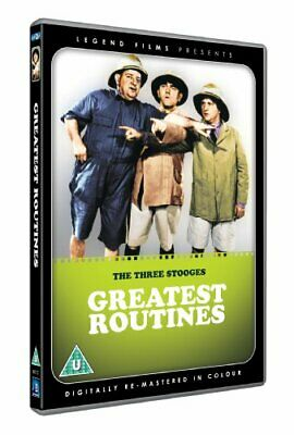 The Three Stooges - Greatest Routines (Digitally Remastered In Co... - DVD  JWVG • 3.68£
