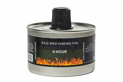 £28.99 • Buy Reusable Chafing Dish Fuel - 6 Hour Burn Time - Relightable Wick - 24 Pack