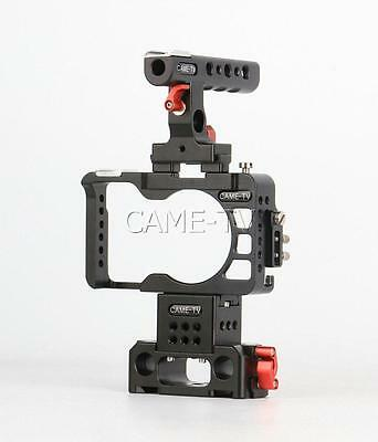 $ CDN286.74 • Buy CAME-TV Rig For Sony A6300 Camera With Handle Cage Baseplate