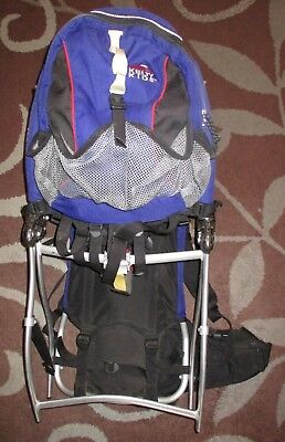 b59b5b4f662 Kelty Kids Back Country Child Carrier Hiking Baby Backpack W  Removable  Pack • 103.87