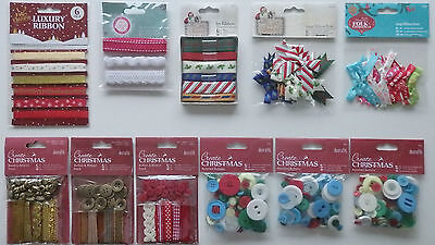 £1.99 • Buy Selection Of Crafting Embellishments (Choice Of 10)